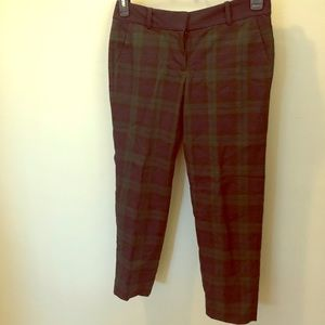 Loft plaid dress pants